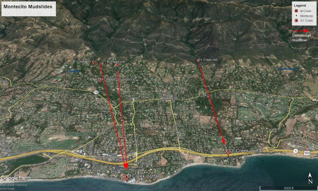 Montecito mudslides II